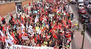 Las horas perdidias a causa de huelga descienden un 30%