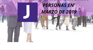 INEM DESCIENDE EN 34.000 PERSONAS EN MARZO 2019