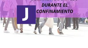 DEMANDA DE EMPLEO DURANTE EL CONFINAMIENTO